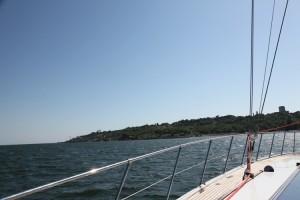 Вид с яхты на город. Фото Татьяна Пирьян