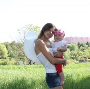 Татьяна Пирьян с дочкой. Фото Сергей Бочковский