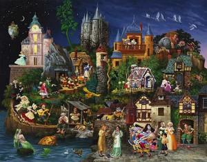 Волшебный мир сказки. Фото с сайта freelancer-guild.ru