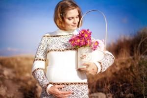 Беременная женщина. Фото Антонина Казак